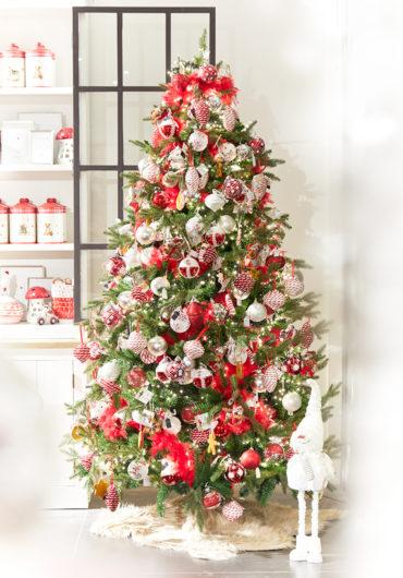 Traditionele rode kerst