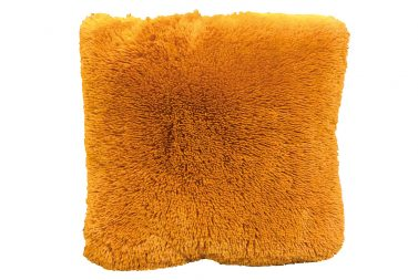Fluffy Kussen Oranje