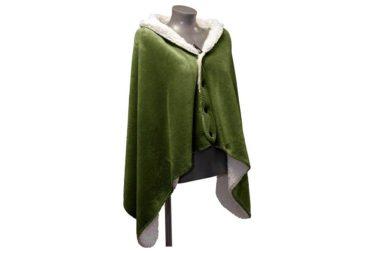 Mantelplaid groen