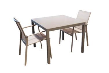 Set tafel Finn + 2 stoelen Porto