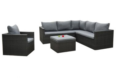 Sofa set Black Saxo