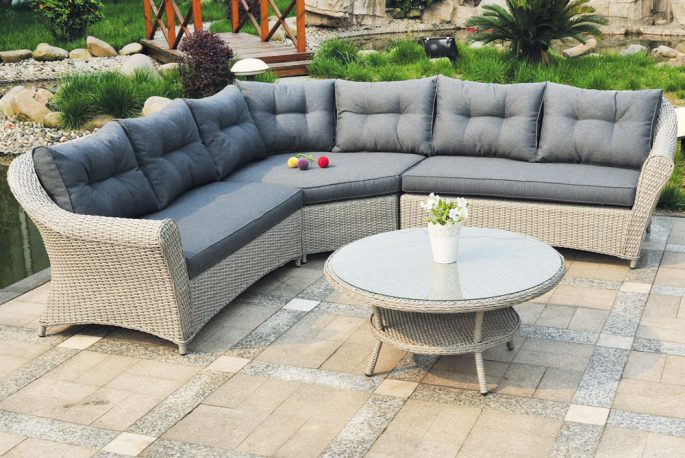 House garden - Sofa vlechtwerk ...